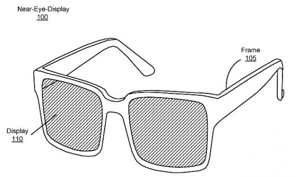 Design of Facebook's Near Eye Display that Was Patented Earlier in the Year