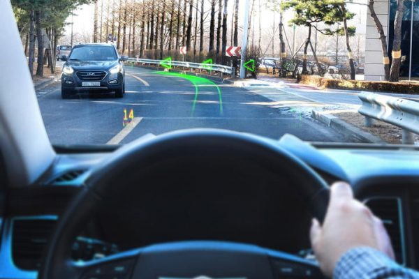 Hyundai Holographic Augmented Reality Navigation System