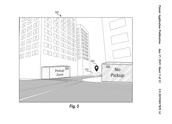 Figure 2: Second Lyft Patent Application