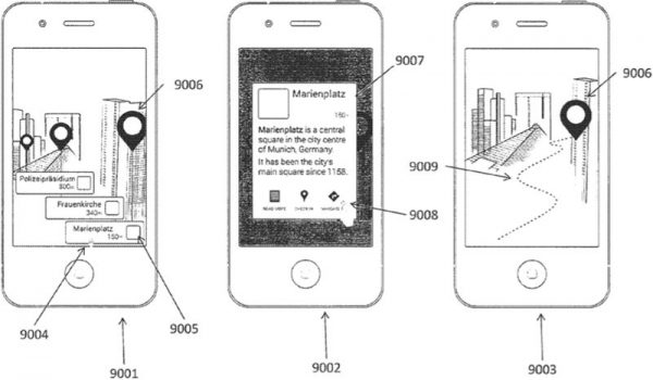 Apple Glasses Patent Illustration