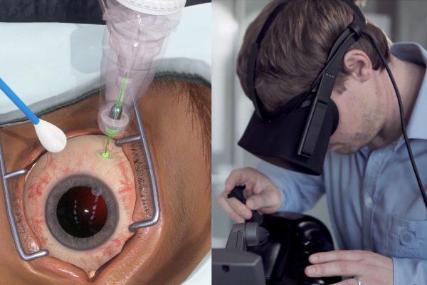 Genentech VR to Train Eye Surgeons