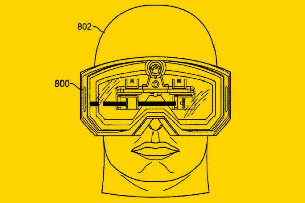 Apple AR Glasses from a Patent Filing in 2008