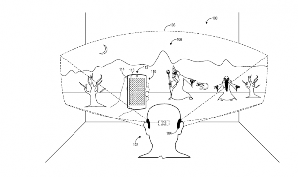 Microsoft Patent talks of leveraging different input methods combined with smartphones