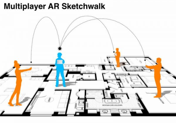 Multiplayer AR SketchWalk