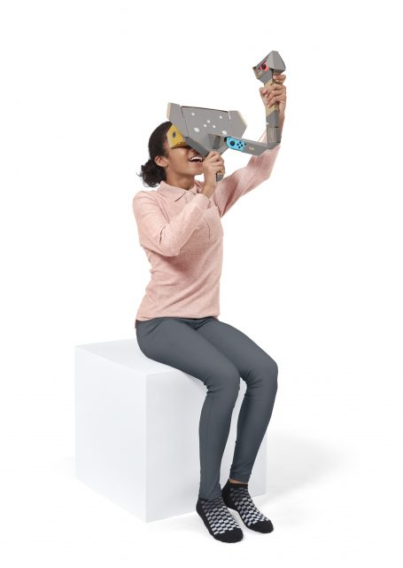 Switch Nintendo Labo VR Kit Toy-Con Elephant