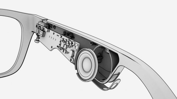 Frames audio AR sunglasses have the tiniest of systems