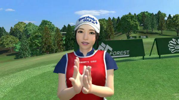 Everybody's Golf VR Caddy