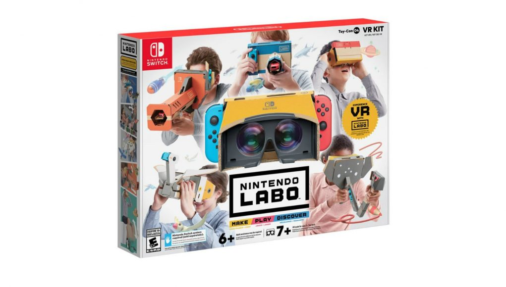 The Nintendo Labo VR KIt has run out of stock in major online retailers