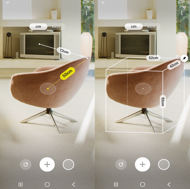 Samsung Quick Measure AR App provides more precise measurements