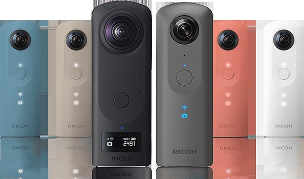 RICOH THETA 360 Degree Camera