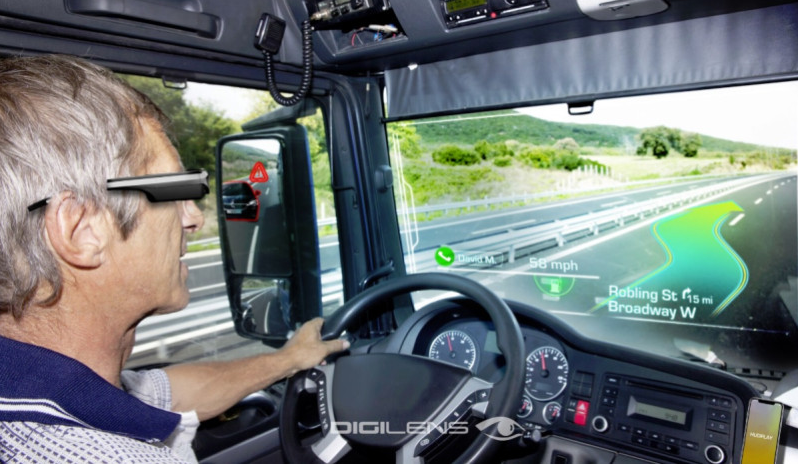 DigiLens Glasses Will Assist Drivers to Navigate their Cars