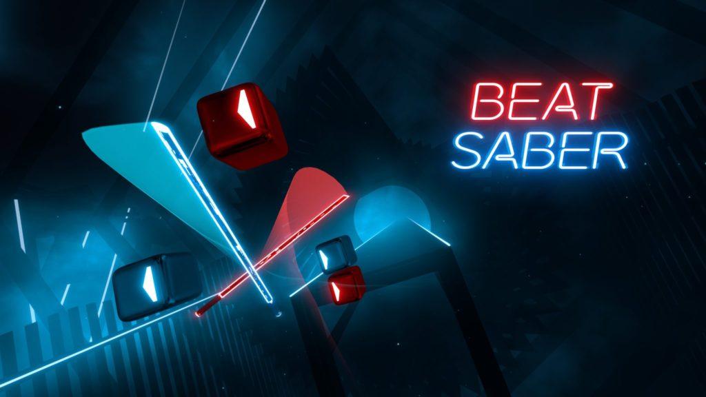 Beat Saber Key Art
