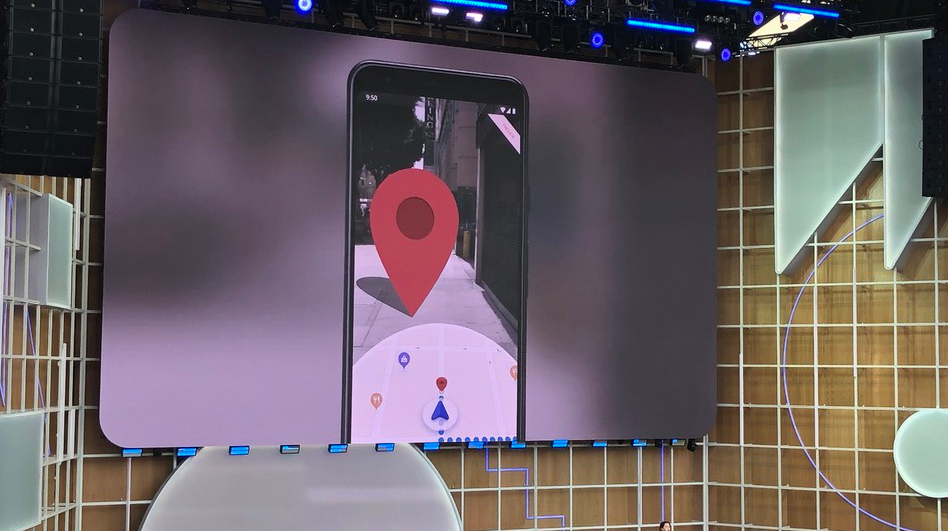 Google Maps Augmented Reality Walking Directions