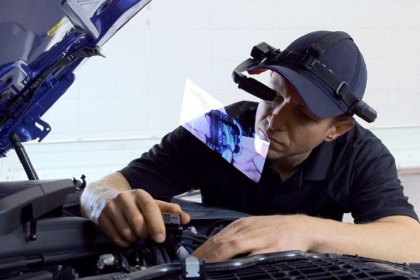 BMW Augmented Reality Troubleshooting