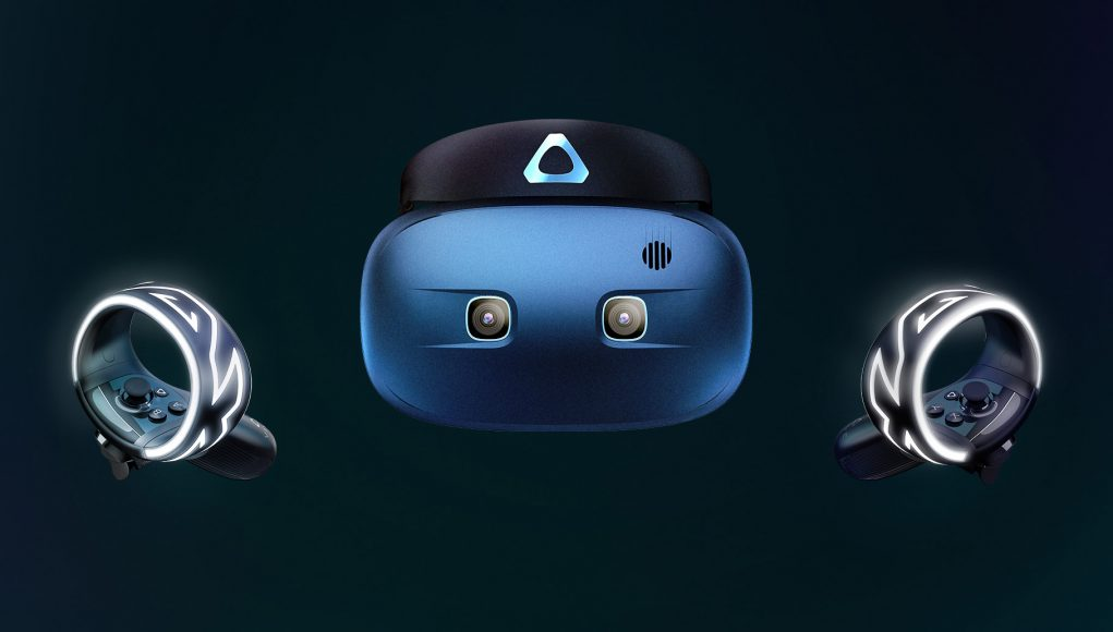 Vive Cosmos and Controllers render
