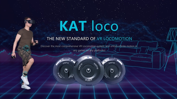 KAT Loco Provides a New Standard for Virtual Reality Locomotion
