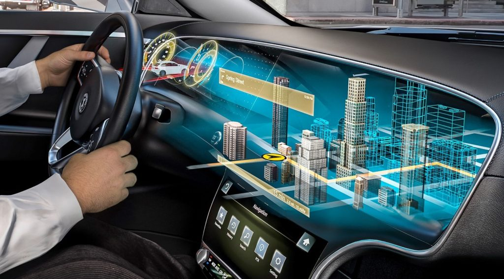 Could this be the dashboard of the future?