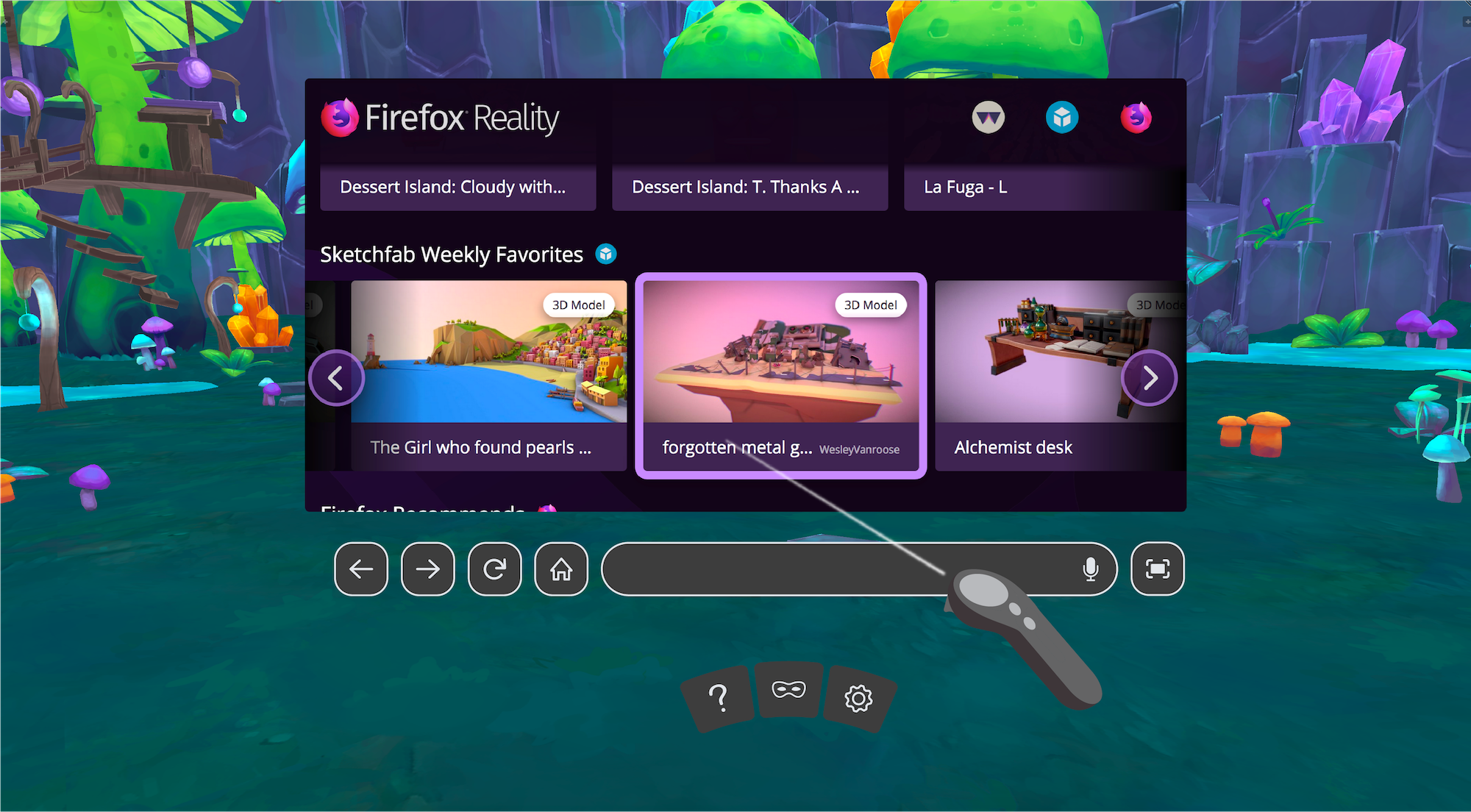 Firefox Reality Browser