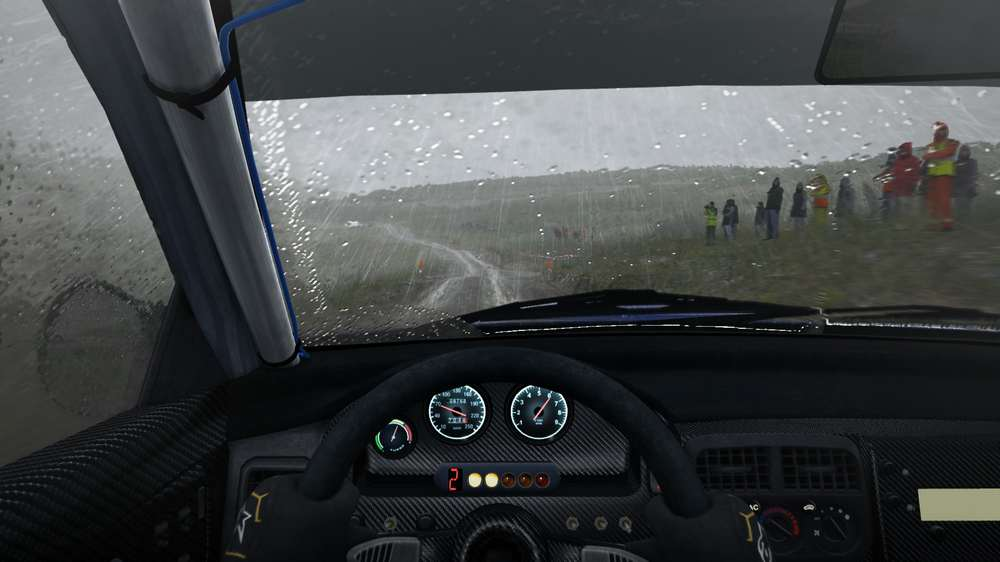 First Dirt Rally VR still had some good realism and driving pleasure
