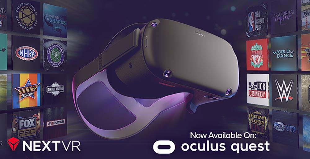 NextVR Oculus Quest