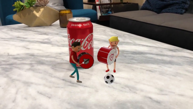 Coke Augmented Reality