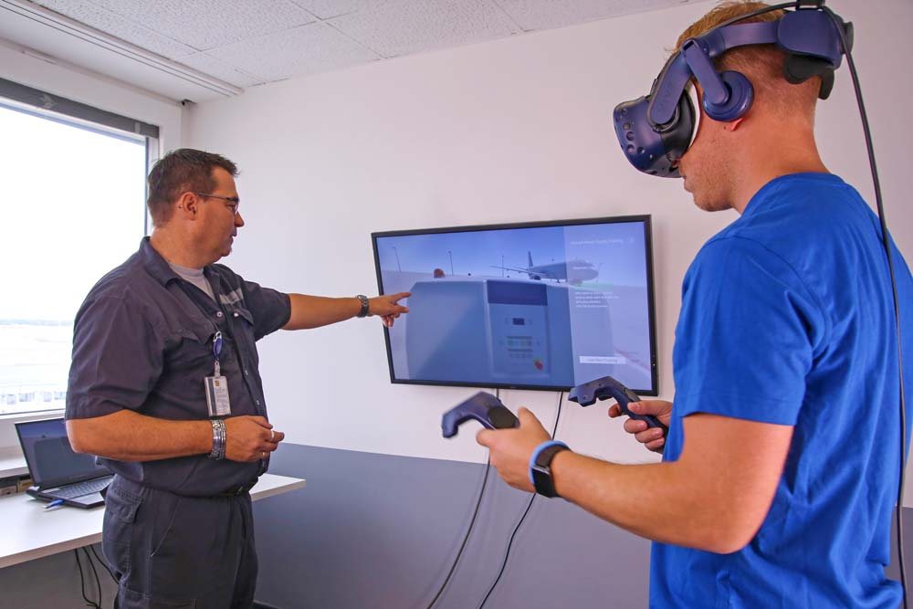 Virtual Reality Training in Frankfurt and Munich Airports