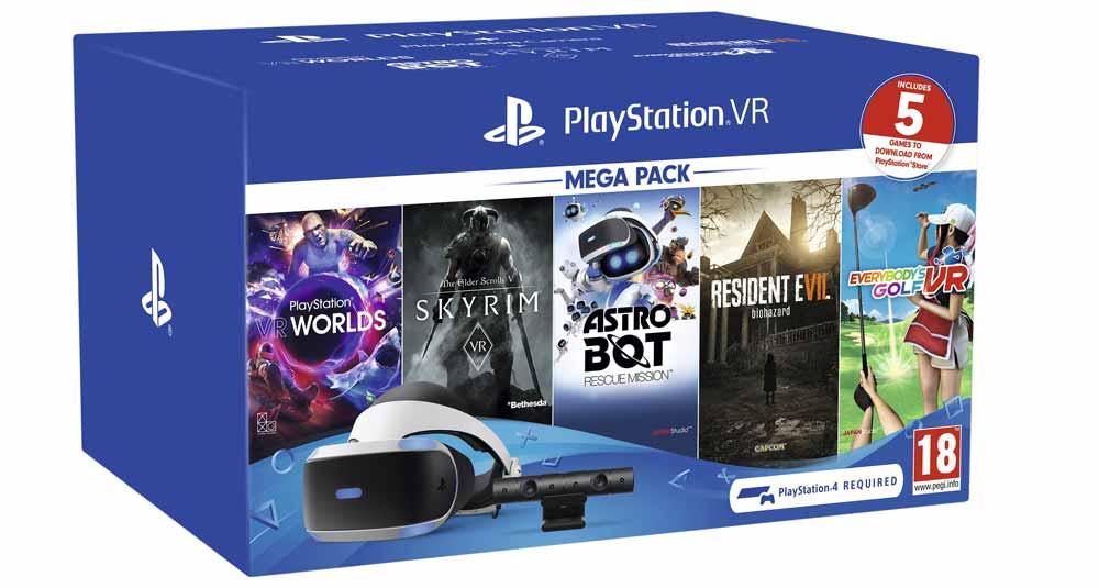 PlayStation VR Mega pack 2019