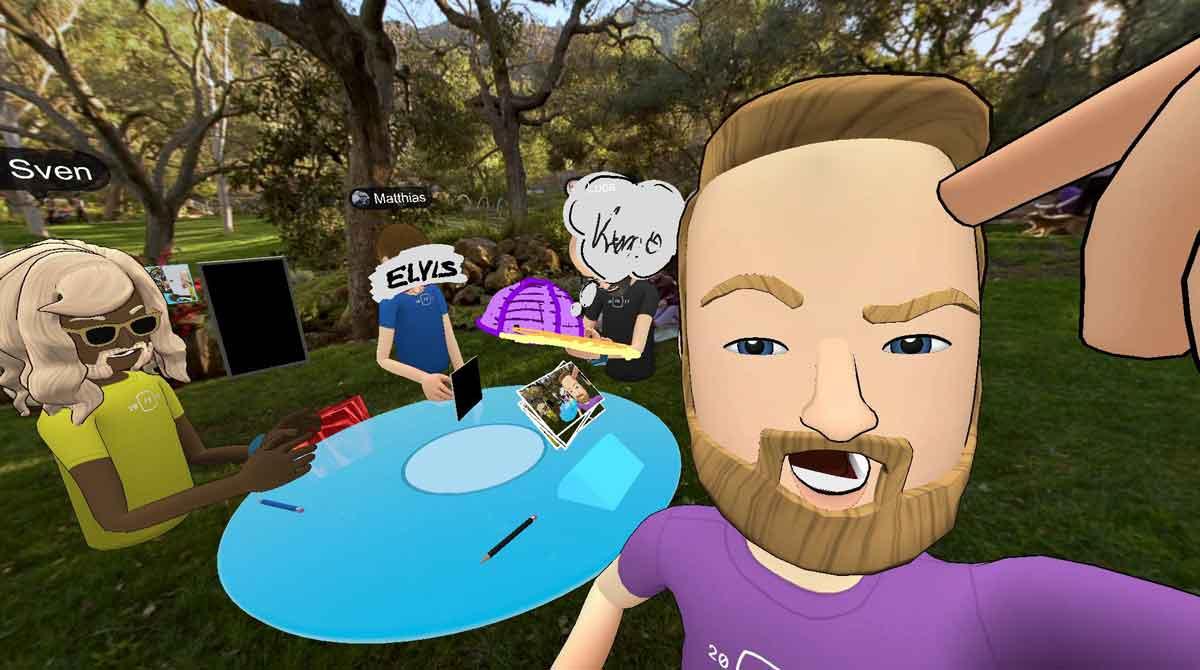 Facebook Spaces VR