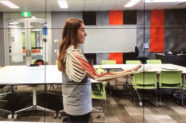La Trobe University Augmented Reality Anatomy Program