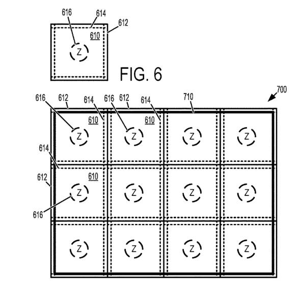 Microsoft VR Floor Mat Patent Application Diagram
