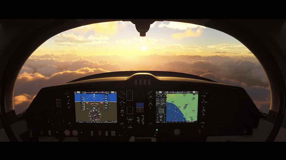 Microsoft Flight Simulator VR Mode