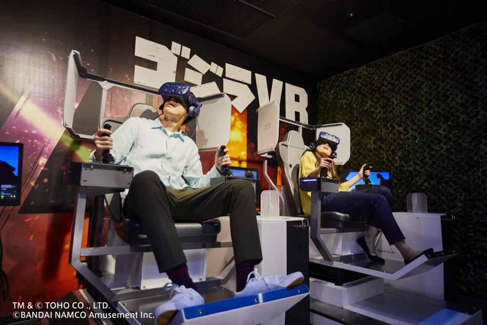In Godzilla VR users can fly right past Godzilla