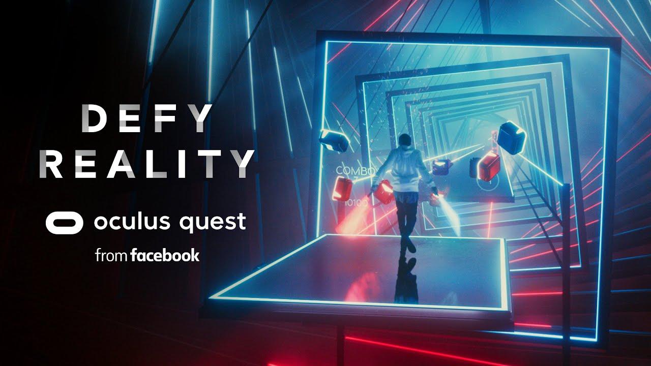 Oculus Quest Beat Saber Promo