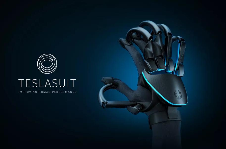 Teslasuit Haptic Gloves