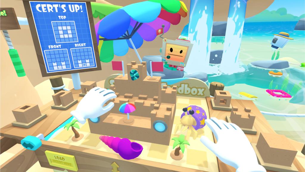 Vacation Simulator Demo Screenshot
