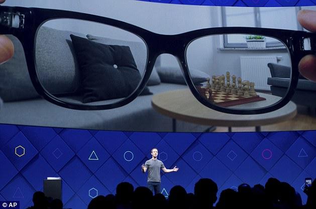 Facebook Hopes to Create Sleeker AR Glasses
