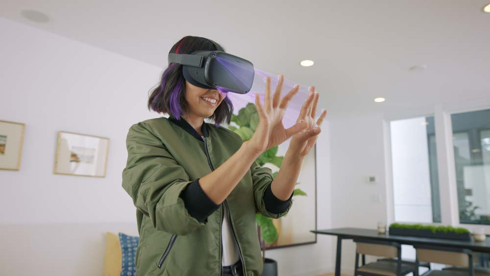 Oculus Quest Hand Tracking Enables Users to Navigate through Menus