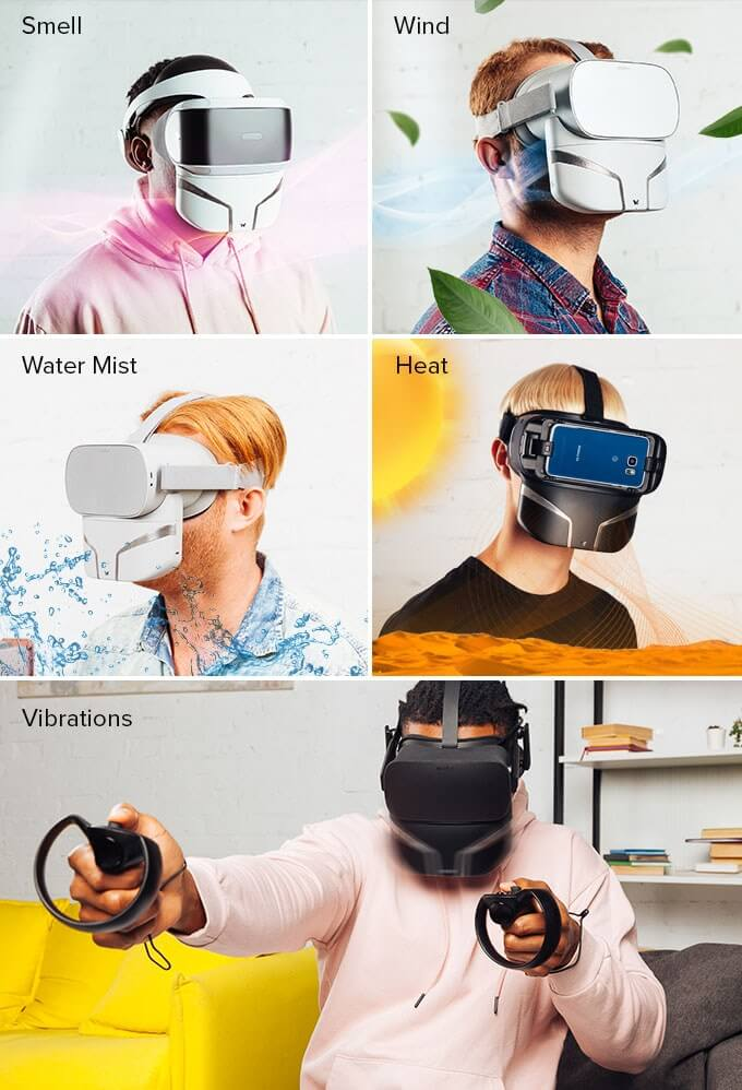 FeelReal Scent Mask Technical Implementation was Complex