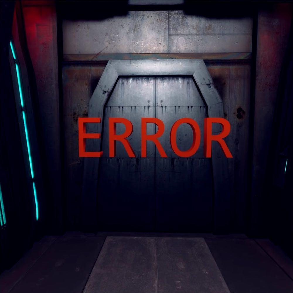 Half-Life: Alyx VNN Screenshot showing a new environment with an ERROR placeholder model
