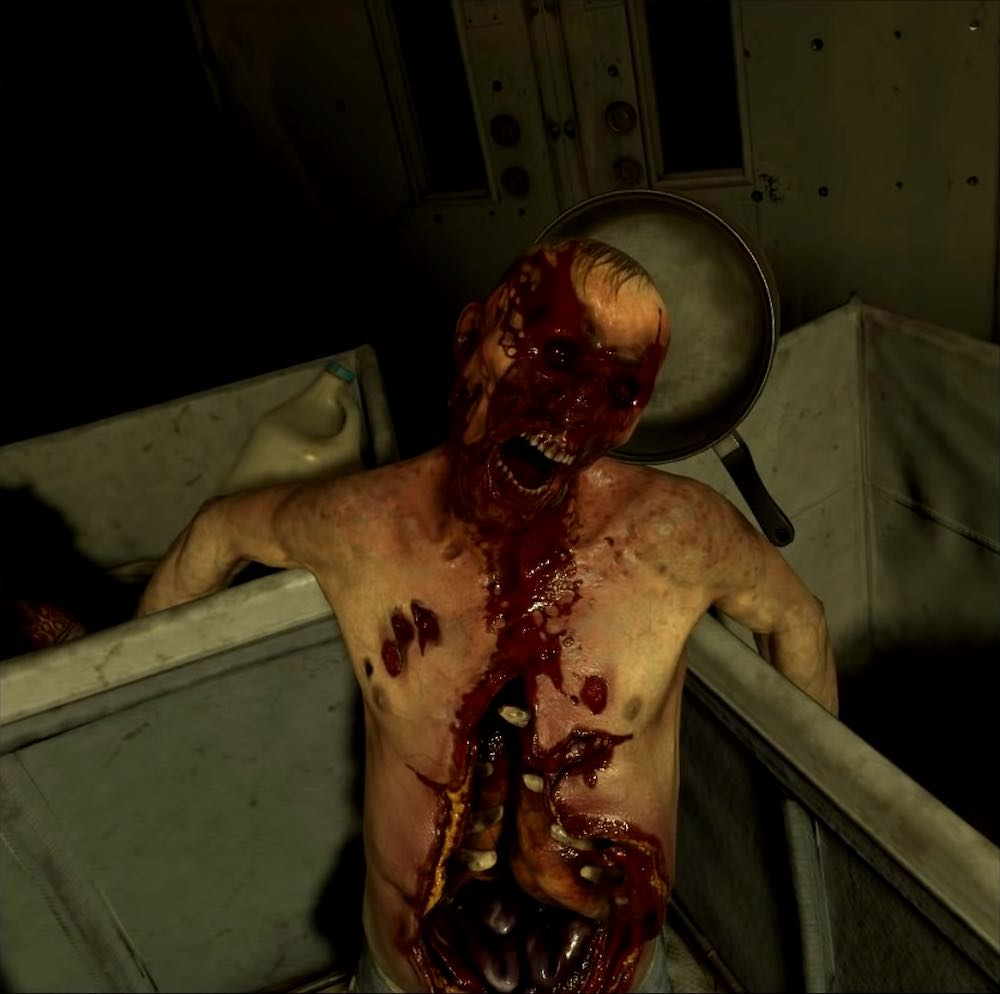 Half-Life: Alyx VNN Screenshot showing a headcrab zombie without a headcrab