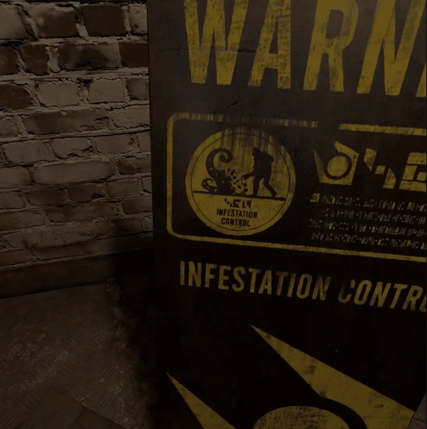 Half-Life: Alyx Screenshot Warning Underground