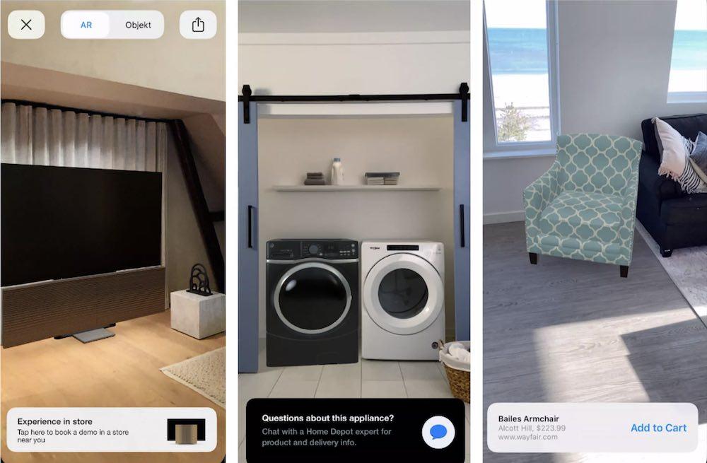 Apple Enhances AR Quick Look