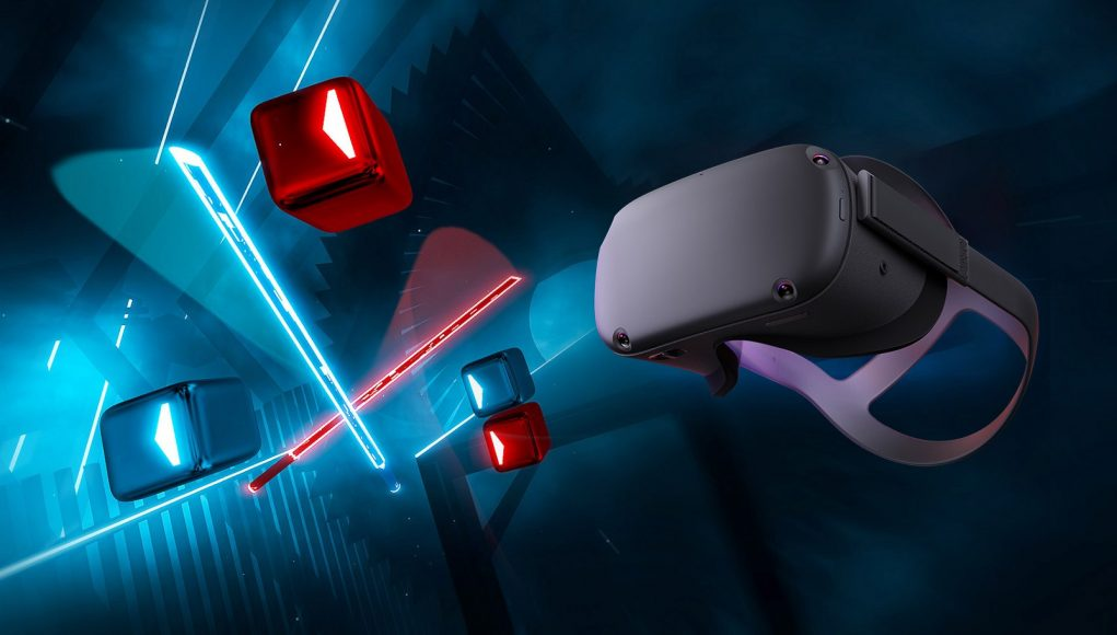 Beat Saber on Oculus Quest