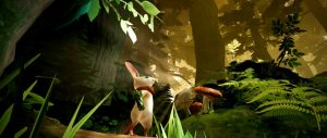 Moss VR for PlayStation
