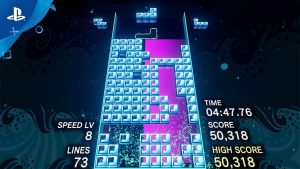 Tetris Effect on PlayStation VR