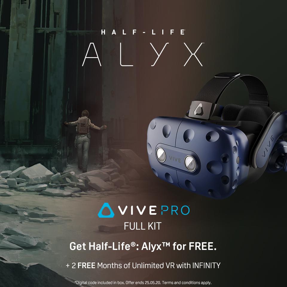 HTC Vive Pro - Half-Life: Alyx