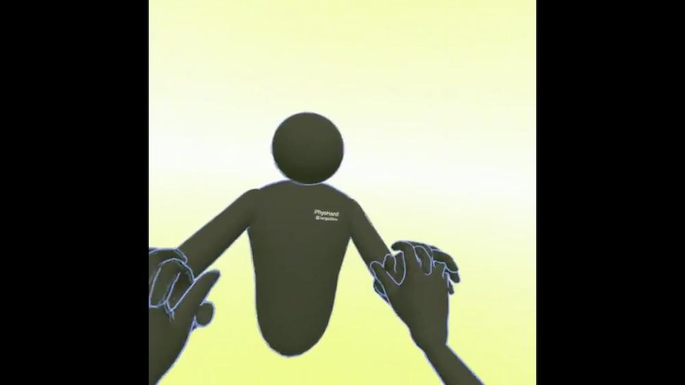 Hand Tracking Social VR Demo