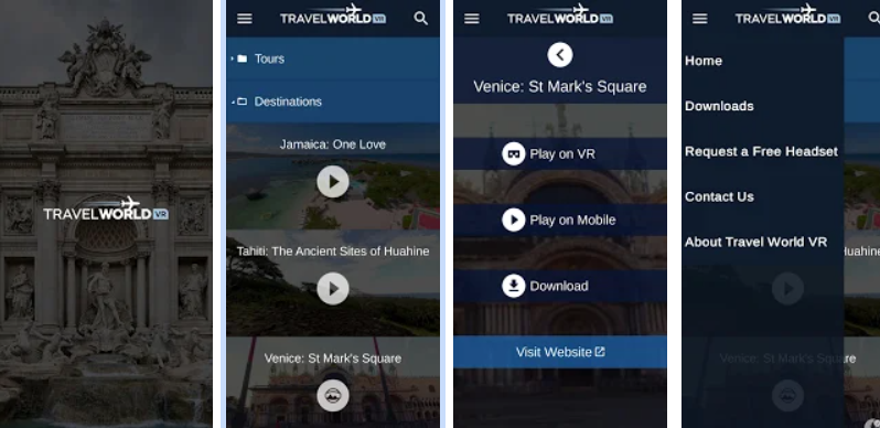 Travel World VR