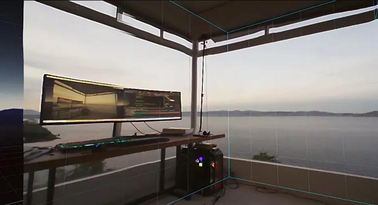 Valve Index 3D Passthrough