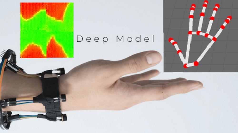 FingerTrak Thermal Tracking Wristband Prototype